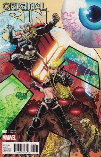 Original Sin #1 1:10 Art Adams Connecting Variant Marvel 2014 Magik Thor