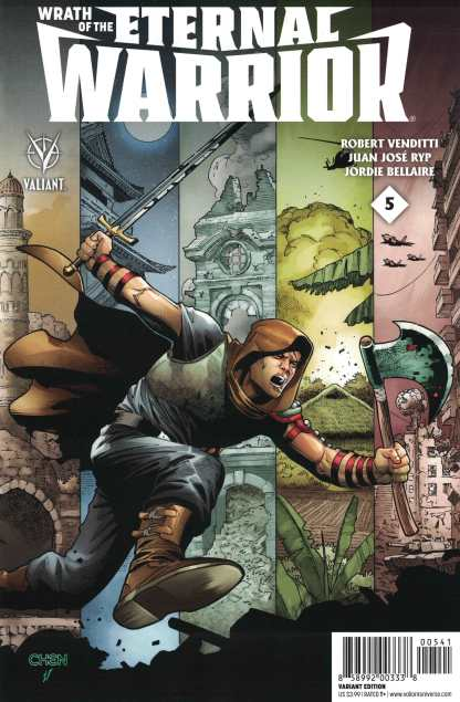 Wrath of the Eternal Warrior #5 1:20 Chen Variant Valiant Cover D
