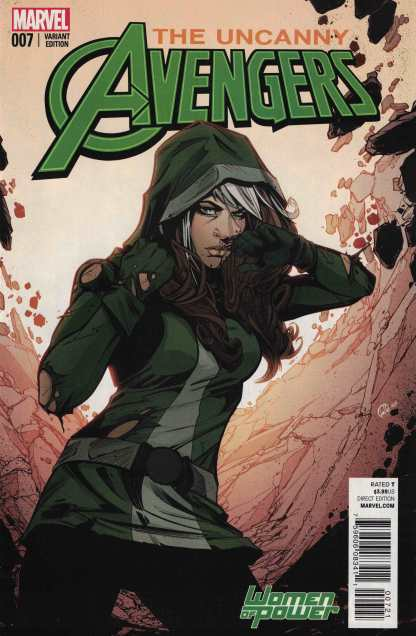 Uncanny Avengers #7 Joelle Jones Women of Power Rogue Variant WOP 2015