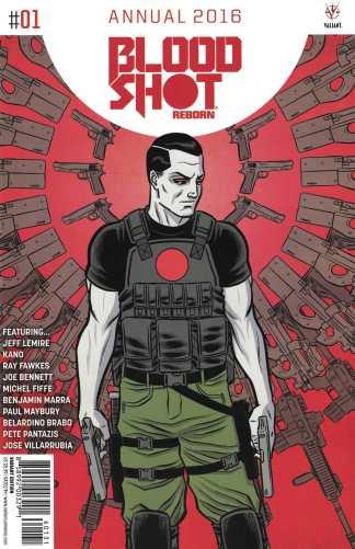 Bloodshot Reborn Annual #1 1:10 Wilson Variant Cover C Valiant 2015