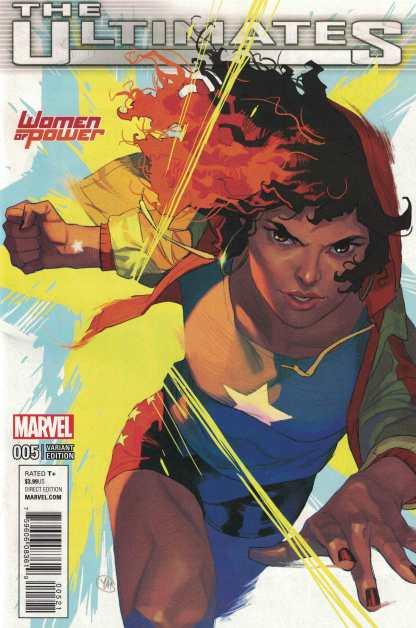 Ultimates #5 Yasmine Putri Women of Power WOP Variant America Chavez