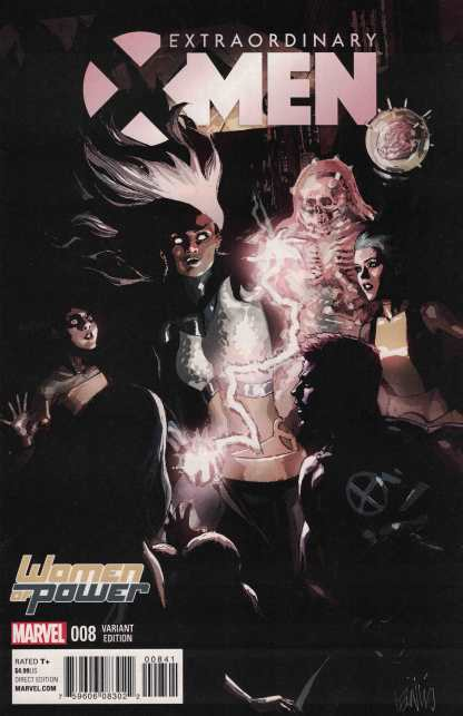 Extraordinary X-Men #8 Yu WOP Women of Power Variant Marvel 2015 ANAD