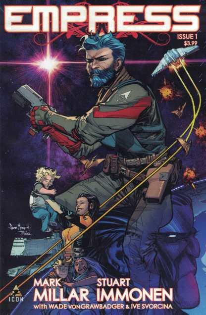 Empress #1 1:25 Sean Murphy Variant Icon Mark Millar 2016 Marvel