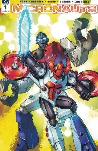 Micronauts #1 1:25 Casey W Coller Retailer Incentive Variant RI A IDW 2016