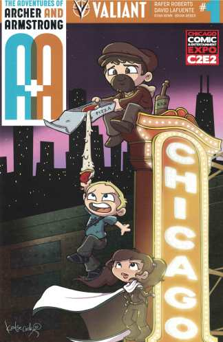A&A Adventures of Archer & Armstrong #1 C2E2 Katie Cook Exclusive Variant 2016