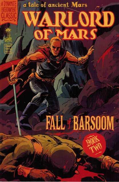 Warlord of Mars Fall of Barsoom #2 1:10 Francesco Francavilla Variant Dynamite John Carter