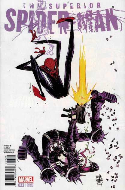Superior Spider-Man #23 1:50 Skottie Young Variant Venom