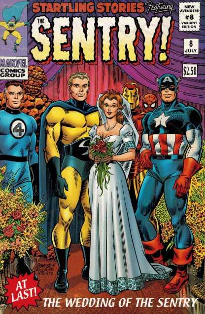 New Avengers #8 John Romita Sr Sentry Variant Marvel 20015