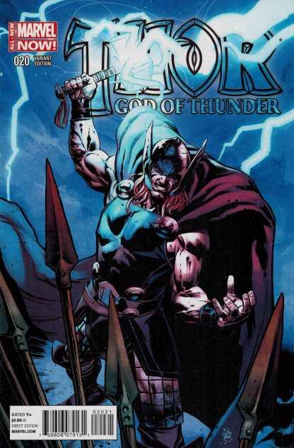 Thor God of Thunder #20 1:50 Klein Variant Marvel NOW