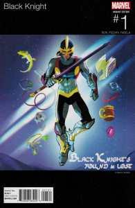 Black Knight #1 Garba Hip Hop Variant Marvel ANAD 2015