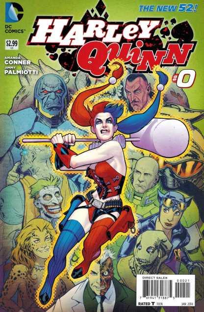Harley Quinn #0 1:25 Stephanie Roux Variant New!