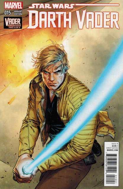 Darth Vader #15 Mann Connecting Variant Cover Down VDOWN 2015 Marvel