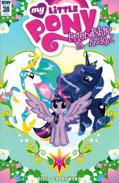 My Little Pony Friendship is Magic #38 1:10 Retailer Incentive Variant RI IDW MLP