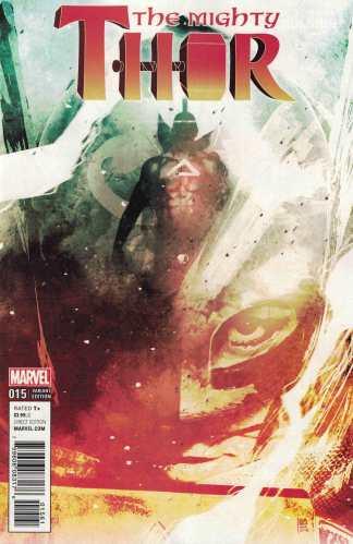 Mighty Thor #15 1:50 Andrea Sorrentino Variant Marvel ANAD 2015