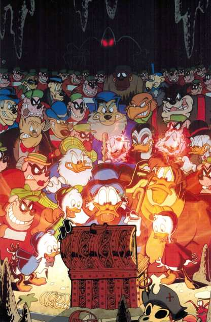 Ducktales #1 1:10 Virgin Art Variant Disney Boom!