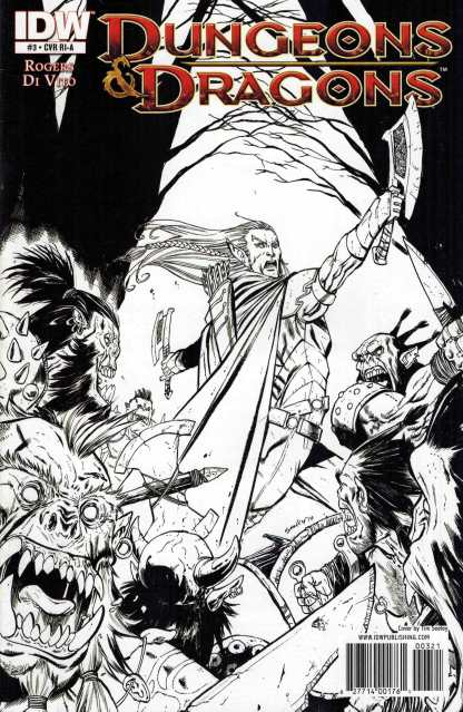 Dungeons and Dragons #3 Tim Seely Variant RIA IDW