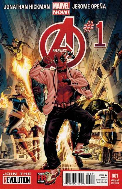 Avengers NOW #1 Deadpool Gangnam Style Color Variant