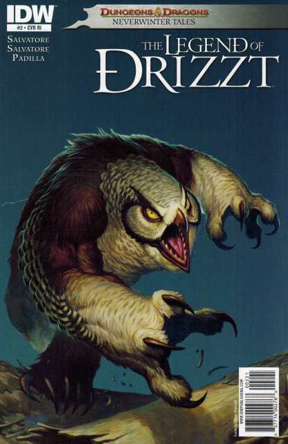 Dungeons and Dragons Legend of Drizzt #2 1:10 Variant RI IDW