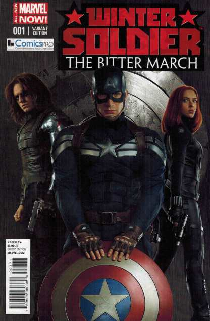 Winter Soldier the Bitter March #1 Comicspro Movie Variant Captain America