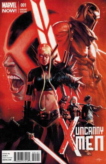 Uncanny X-Men #1 1:50 Gabriel Dell'Otto Variant