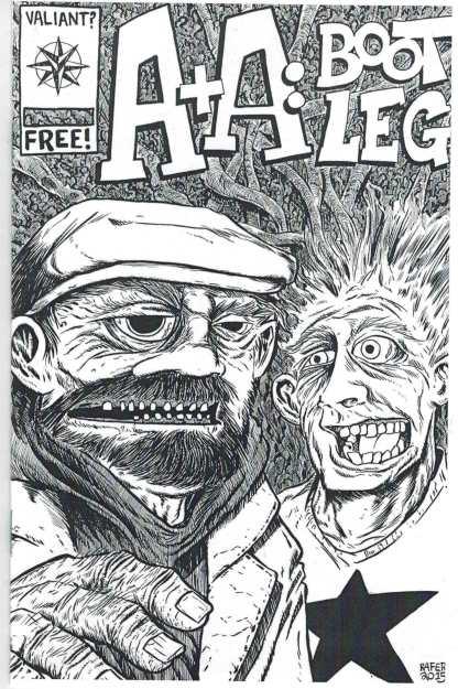 A&A Bootleg Unofficial Mini Comic Rafer Ashcan Valiant Archer & Armstrong 2015