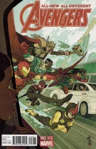 All-New All Different Avengers #3 1:25 Afu Chan Variant Marvel ANAD 2015