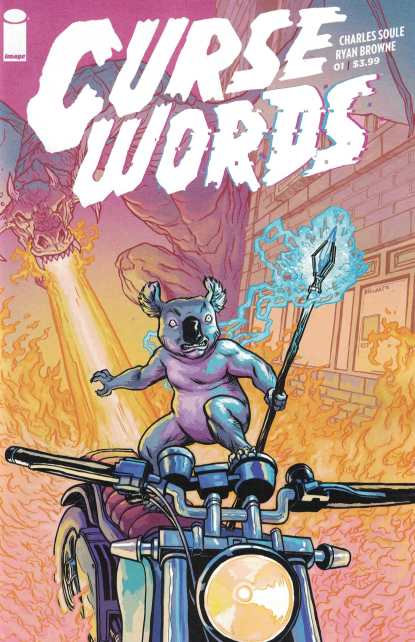 Curse Words #1 1:25 Margaret Incentive Variant Cover C Image Comics 2017