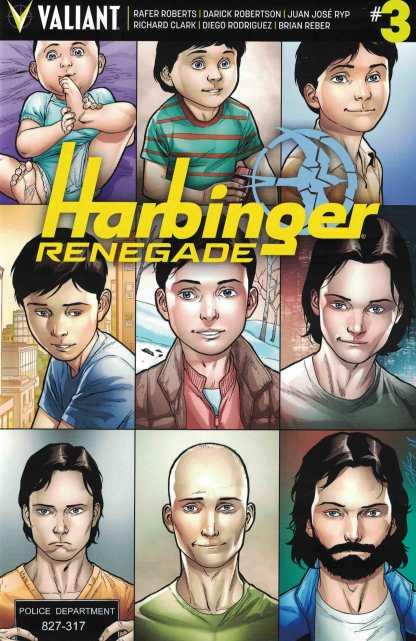 Harbinger Renegade #3 1:10 Clayton Henry Variant Cover D Valiant 2016