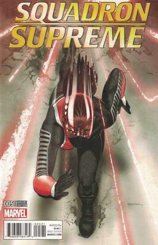 Squadron Supreme #5 1:25 Ryan Sook Variant ANAD Marvel 2015