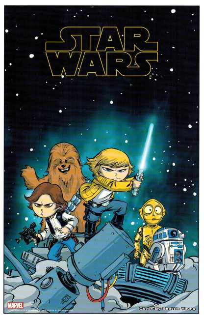 Star Wars #1 Skottie Young Promo Lithograph Art Print 8x10