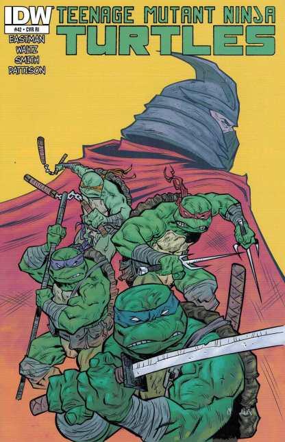 Teenage Mutant Ninja Turtles #42 1:10 Retailer Incentive Variant RI