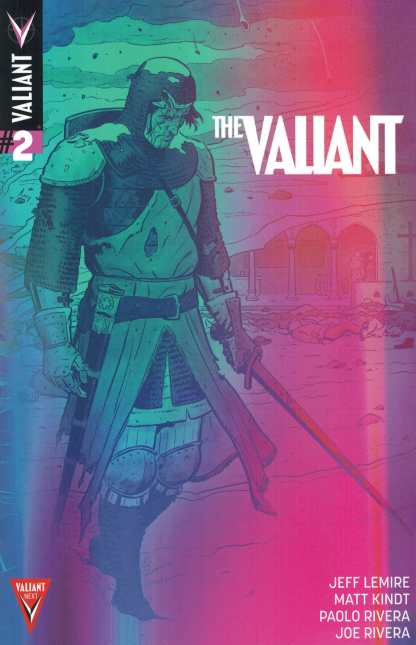 The Valiant #2 1:10 Valiant Next Variant Jeff Lemire Matt Kindt