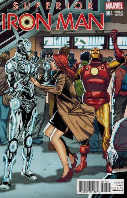 Superior Iron Man #4 1:20 Larroca Star Wars Welcome Home Variant