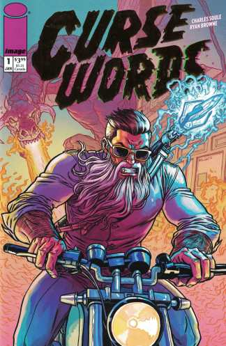 Curse Words #1 Image Comics 25th Anniversary Gold Foil Variant One Per Store