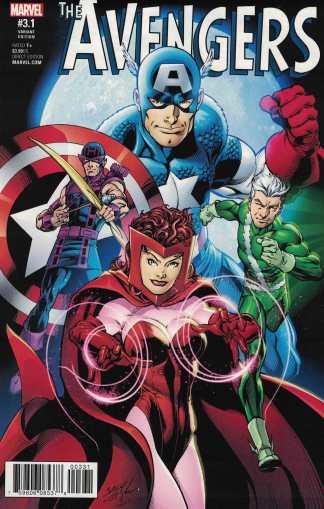 Avengers #3.1 1:50 Mark Bagley Variant NOW Marvel 2016 Point One
