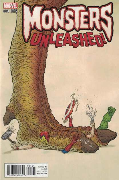 Monsters Unleashed #1 1:50 Geoff Darrow Variant NOW Marvel 2017