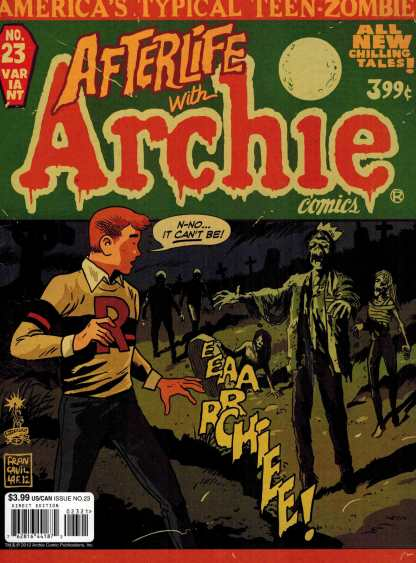 Life With Archie #23 Francavilla Variant Magazine First Afterlife with Archie