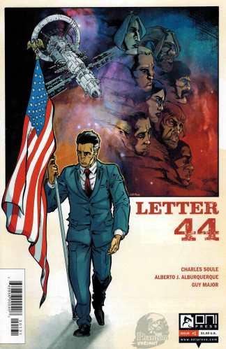 Letter 44 #1 Phantom Variant Charles Soule Oni Press