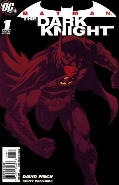 Batman the Dark Knight #1 1:25 Andy Clarke Variant DC Comics 2010 1st Series