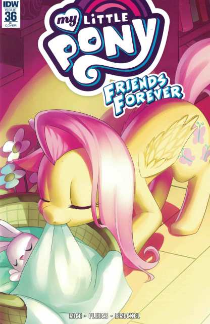 My Little Pony Friends Forever #36 1:10 Low Zi Rong Incentive Variant RI IDW MLP
