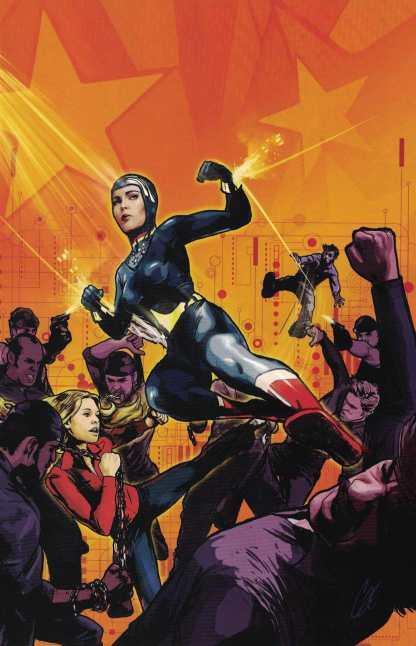 Wonder Woman 77 Meets Bionic Woman #2 1:10 Cat Staggs Virgin Art Variant 2016
