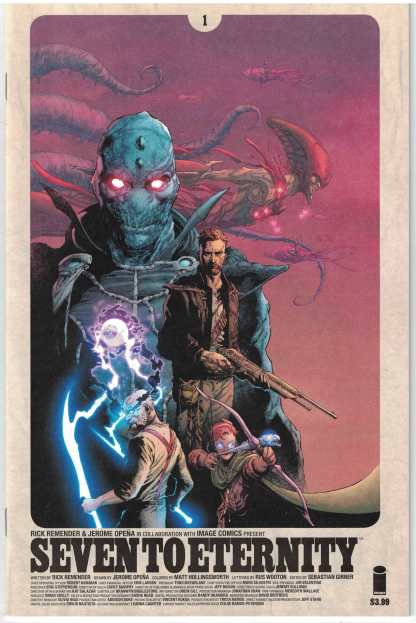 Seven to Eternity #1 First Print Cover A Image 2016 Remender Opena HTF