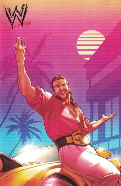 WWE #1 1:50 Jamal Campbell Razor Ramon Variant Boom Studios 2017