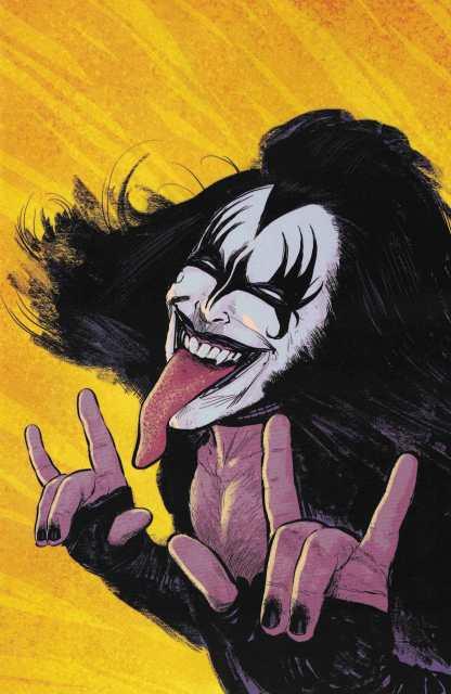 Kiss the Demon #1 1:25 Strahm Virgin Art Variant Cover G 2017 Dynamite Comics
