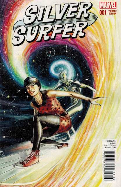 Silver Surfer #1 1:25 Marco Rudy Variant Marvel ANAD 2015