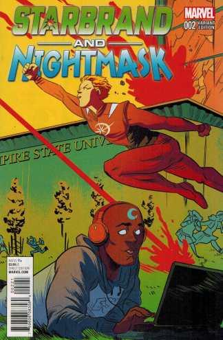 Starbrand and Nightmask #2 1:25 Erica Henderson Variant Marvel ANAD 2016