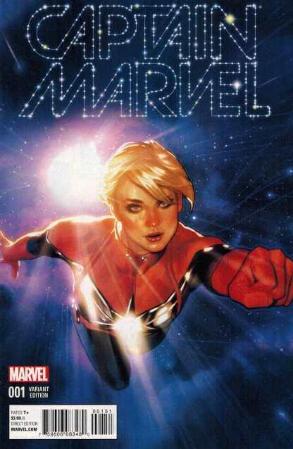 Captain Marvel #1 1:25 Adam Hughes Variant ANAD 2016