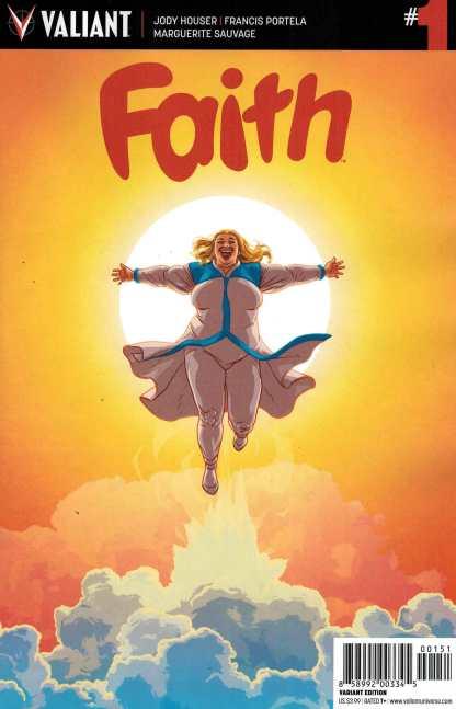Faith #1 1:10 Kano Variant Cover E Valiant Harbinger