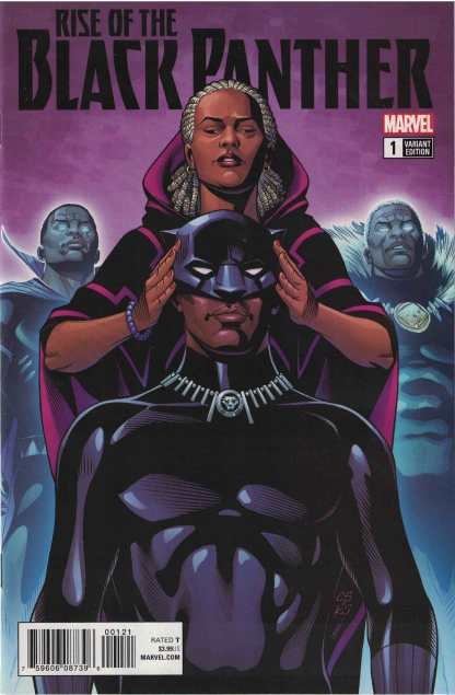 Rise of the Black Panther #1 1:25 Chris Sprouse Variant Marvel Legacy 2017
