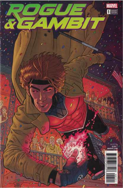 Rogue Gambit #1 1:25 Steve Skroce Variant Marvel Legacy 2017